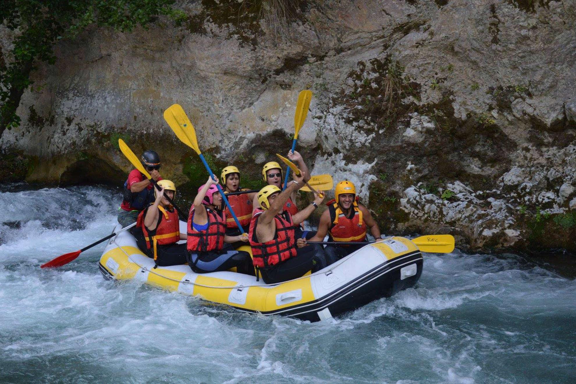 Il rafting: il nuovo sport del momento