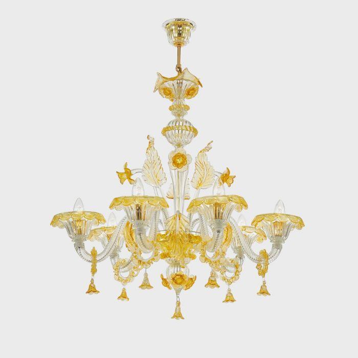 Lampadari in vetro di Murano: l'orgoglio del Made in Italy